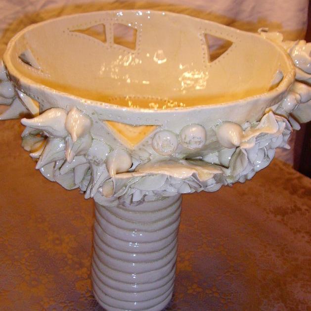 Coupe réversible en vase