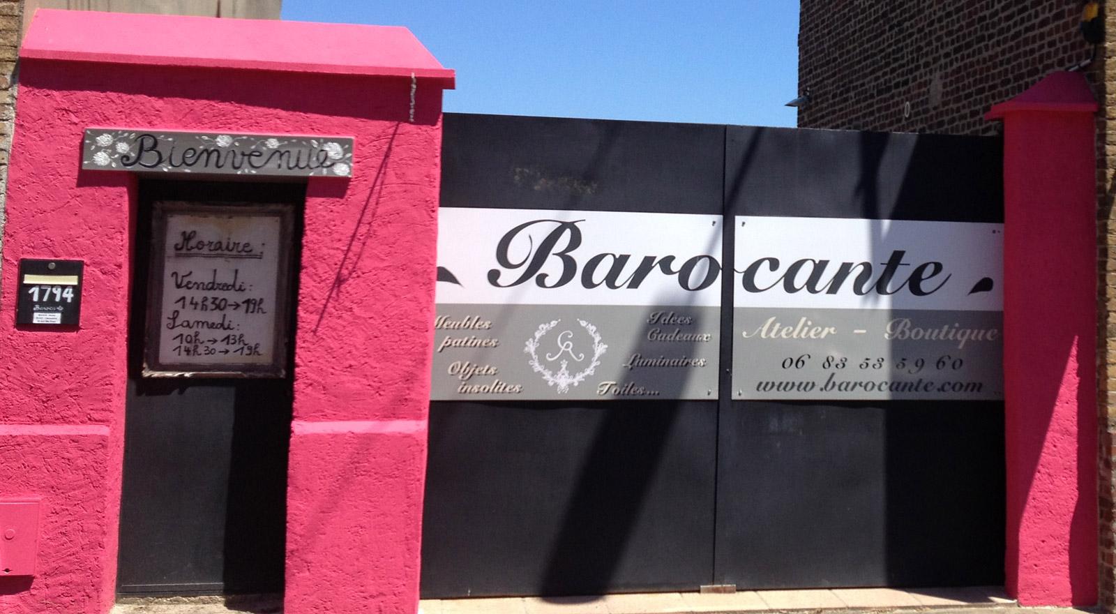 L'entrée extérieure Barocante