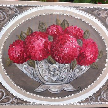130-«Bouquets d'hortensias»