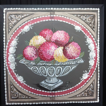 132(a) -«Bouquets d'hortensias»
