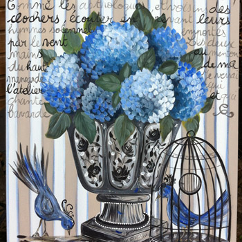 142- «L'oiseau bleu»